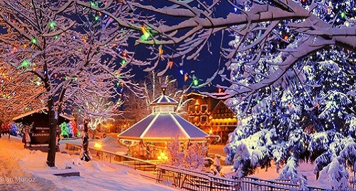 Leavenworth Christmas Lights.A Village Of Christmas Lights Leavenworth Wa Visitorfun Com