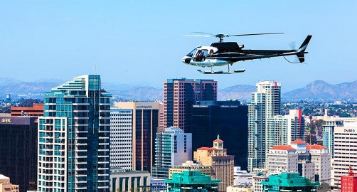 Touring San Diego by Air