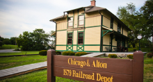 Chicago & Alton Railroad Depot