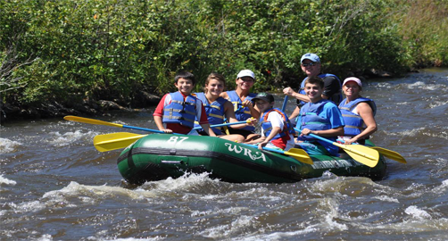 Whitewater Rafting Adventures and Pocono Mountain Paintball