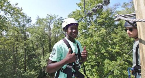 Ziplines and Outdoor Adventures at Refreshing Mountain