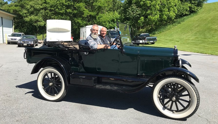 Model T Driving Experience
