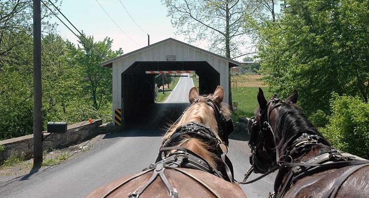 The Five Mile Covered Bridge Ride