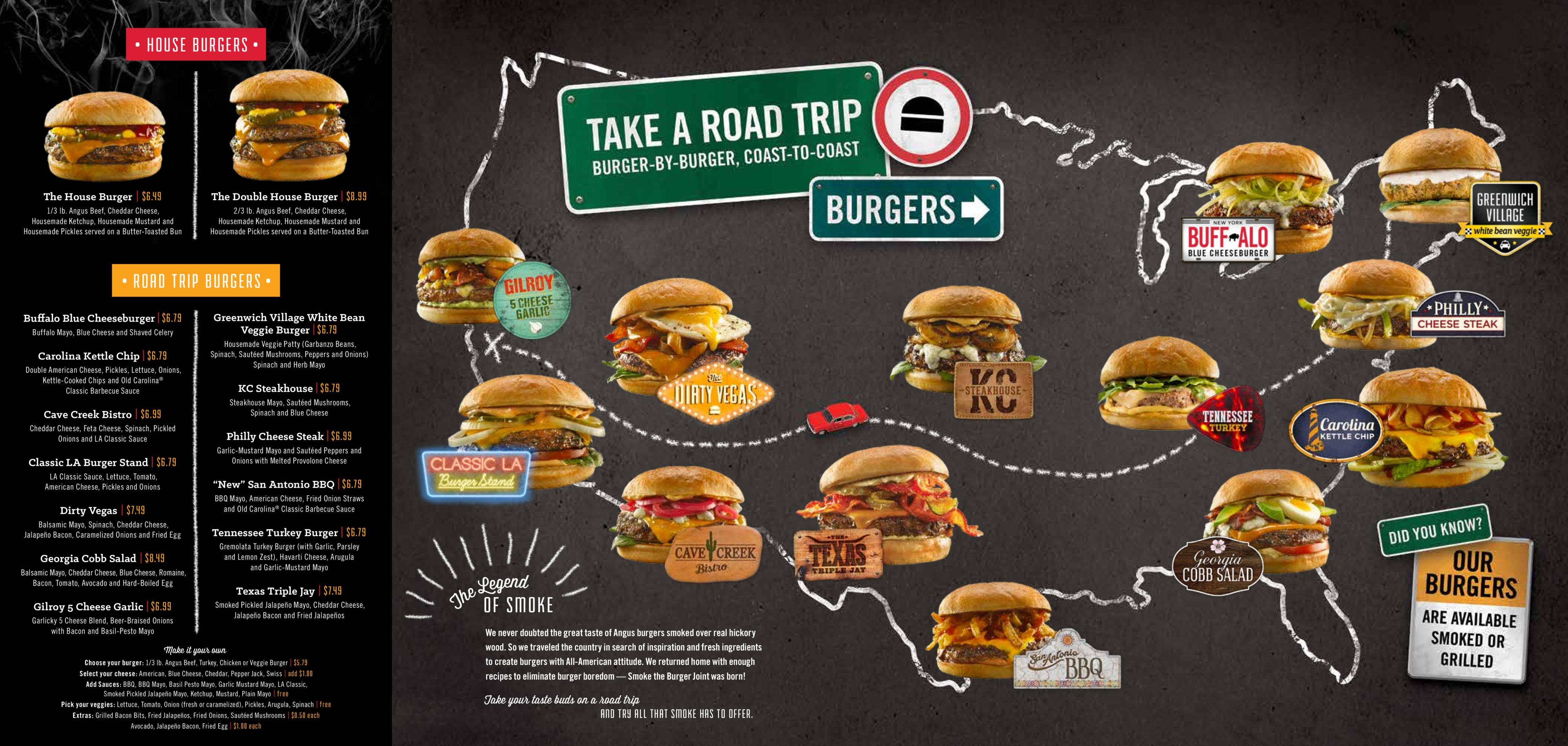 Smoke The Burger Joint North Canton OH Visitorfuncom - Burger joint us map