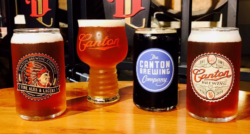 Brewery Tour at Canton Brewing Company