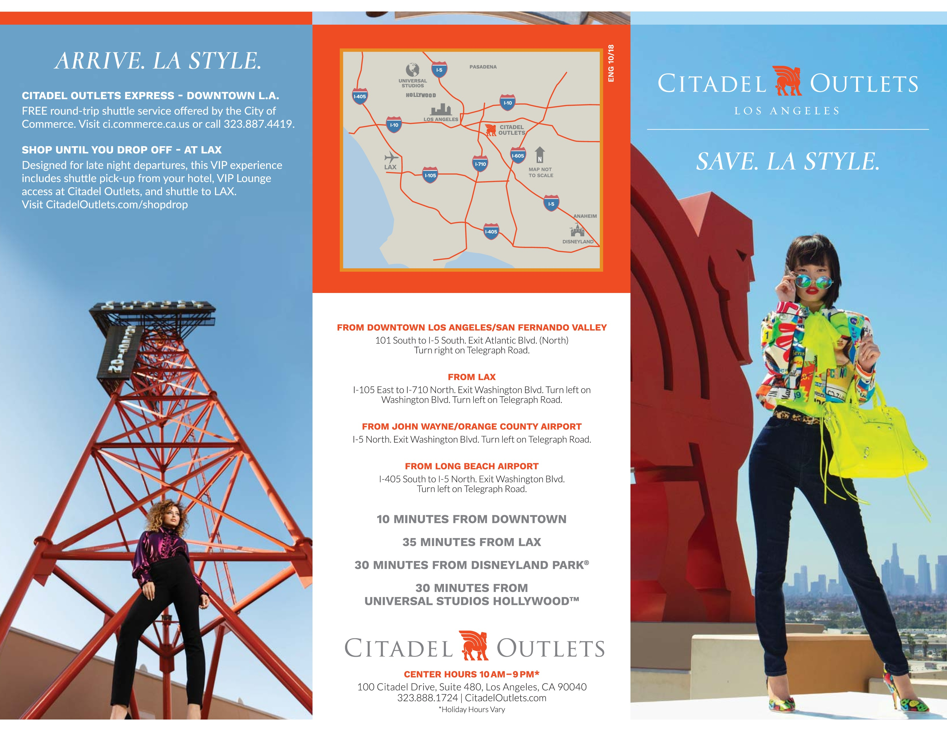 Citadel Outlets | Los Angeles, CA - visitorfun.com on