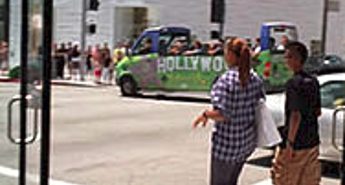 Open Bus Tours Hollywood