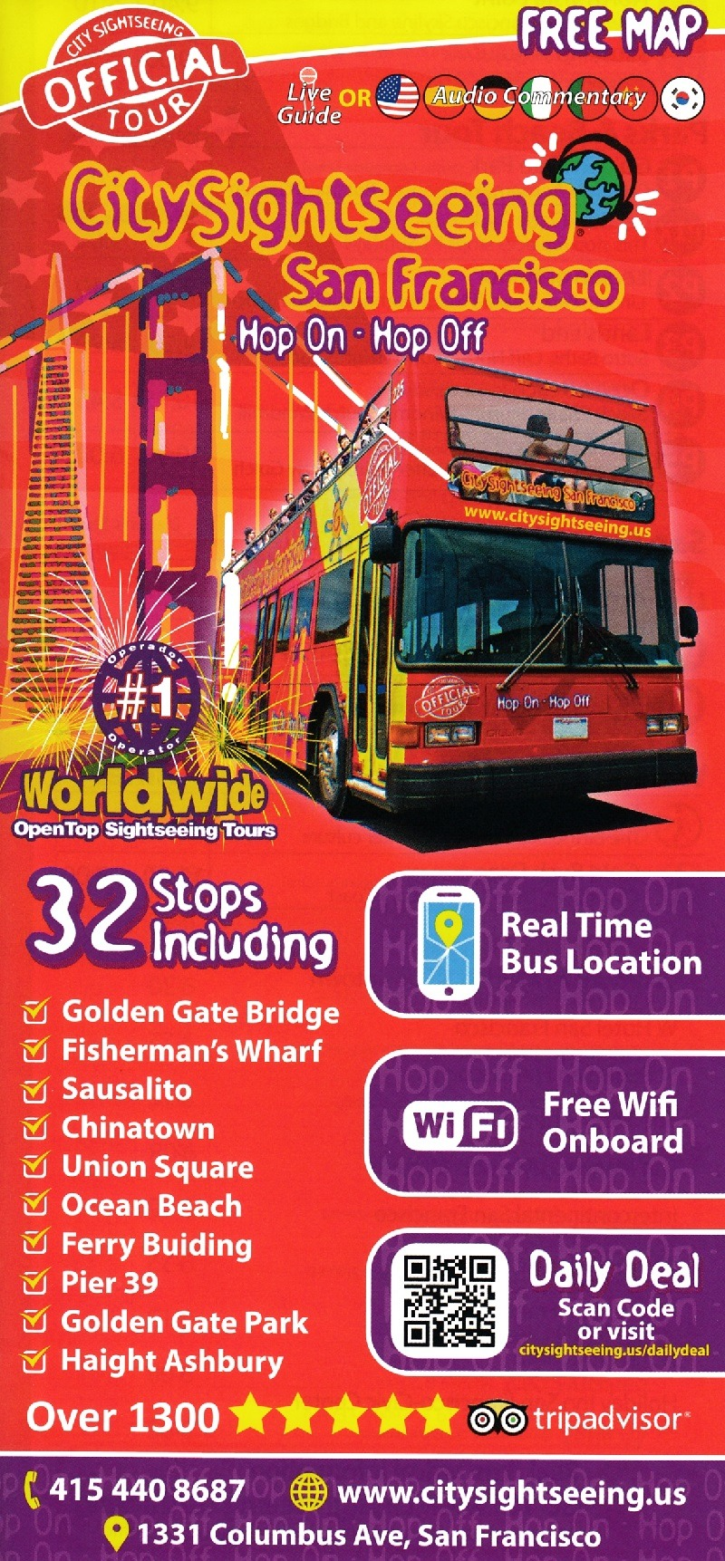 City Sightseeing San Francisco | San Francisco, CA - visitorfun.com
