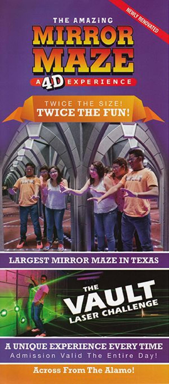 Amazing Mirror Maze San Antonio Tx Visitorfun Com