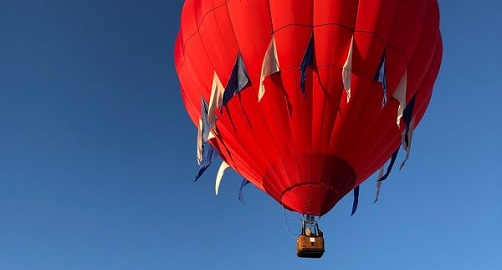 Winter Special: Shared Hershey Hot Air Balloon Ride
