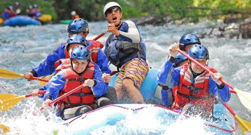 Whitewater Rafting River Drifters