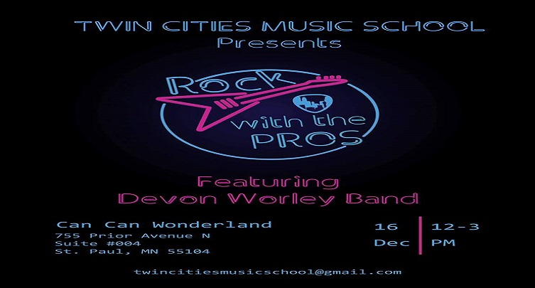 Twin Cities Music School Presents Rock with the Pros