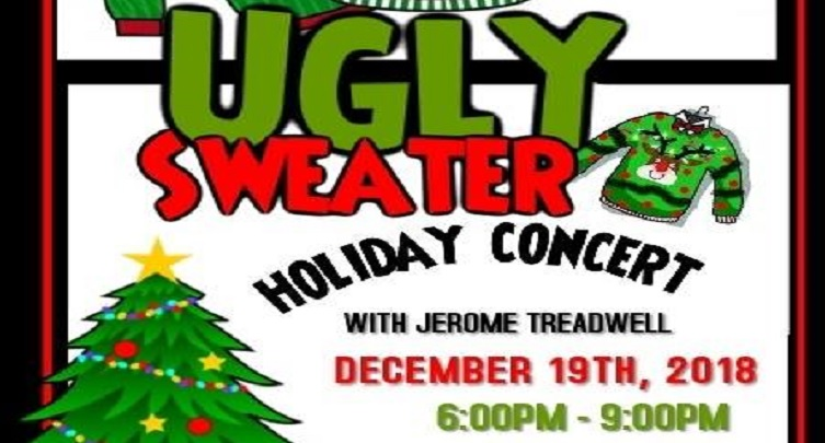 Ugly Sweater Holiday Concert with Jerome Treadwell