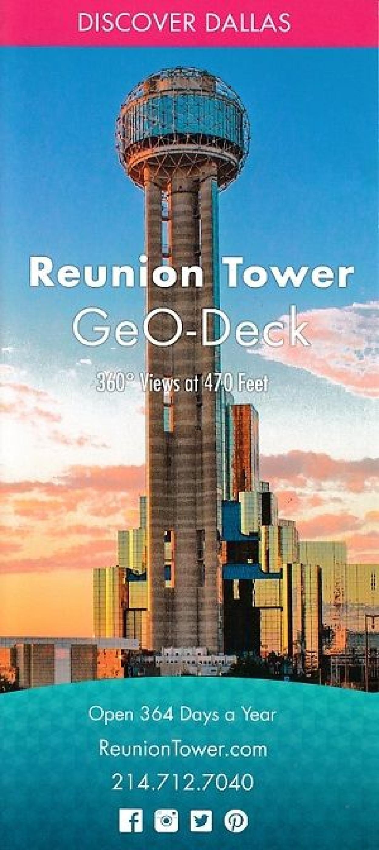 Reunion Tower Dallas Tx Visitorfun Com