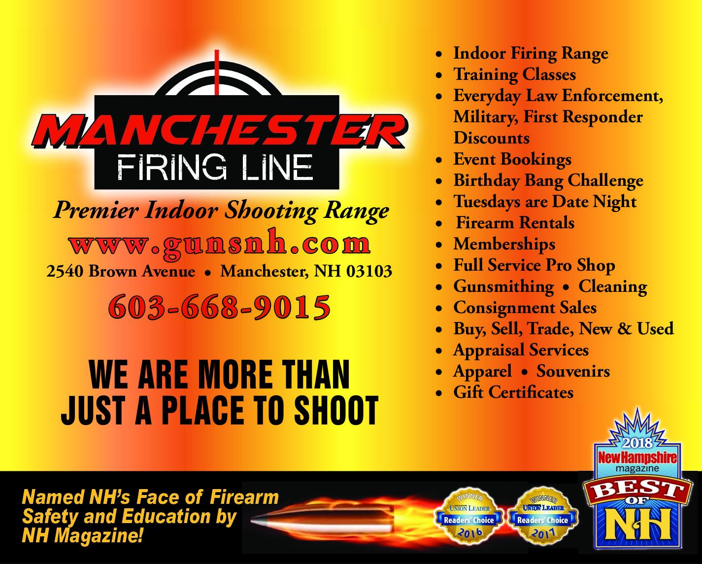 Manchester Firing Line   Manchester, NH - visitorfun com