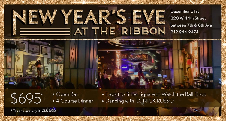 New Year's Eve at the Ribbon
