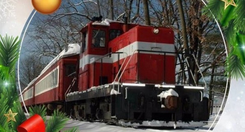 Ride the Train with Santa