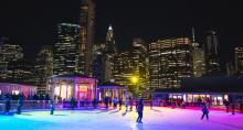 Winterland Rink on The Rooftop at Pier 17
