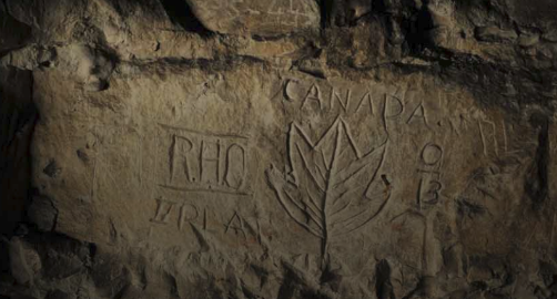Preserved in Stone: Underground Art of the First Word War
