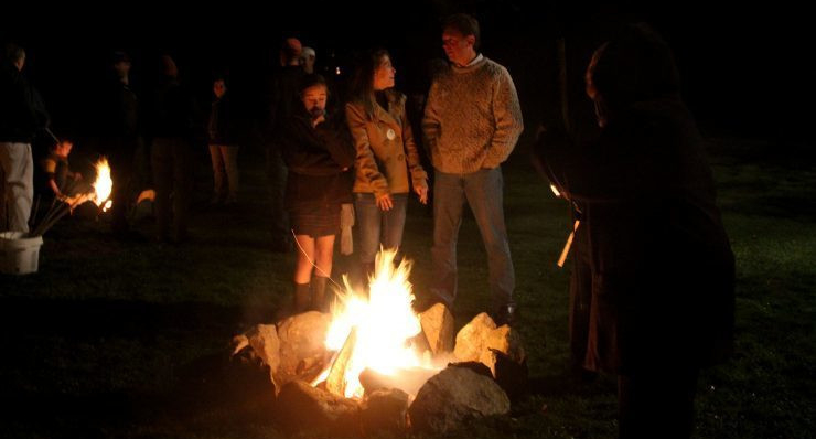 Astronomy Bonfire at Blithewold Mansion