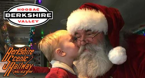 Tinseler Trains with Santa Claus