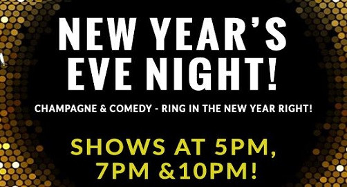Ring in the New Year with ComedySportz!