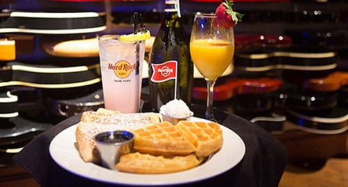 Breakfast Buffet at Hard Rock Cafe