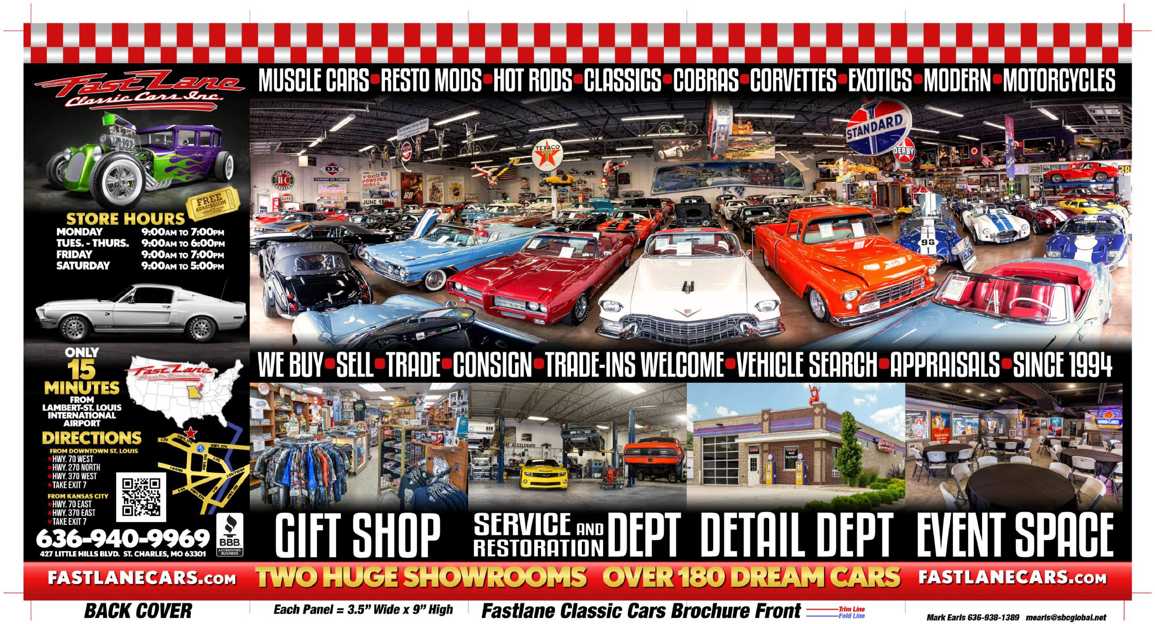 Fast Lane Classic Cars | St. Charles, MO - visitorfun.com