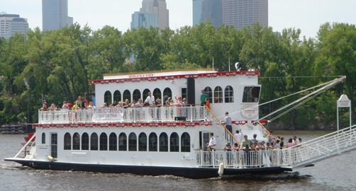 Paradise Charter Cruises & Minneapolis Queen