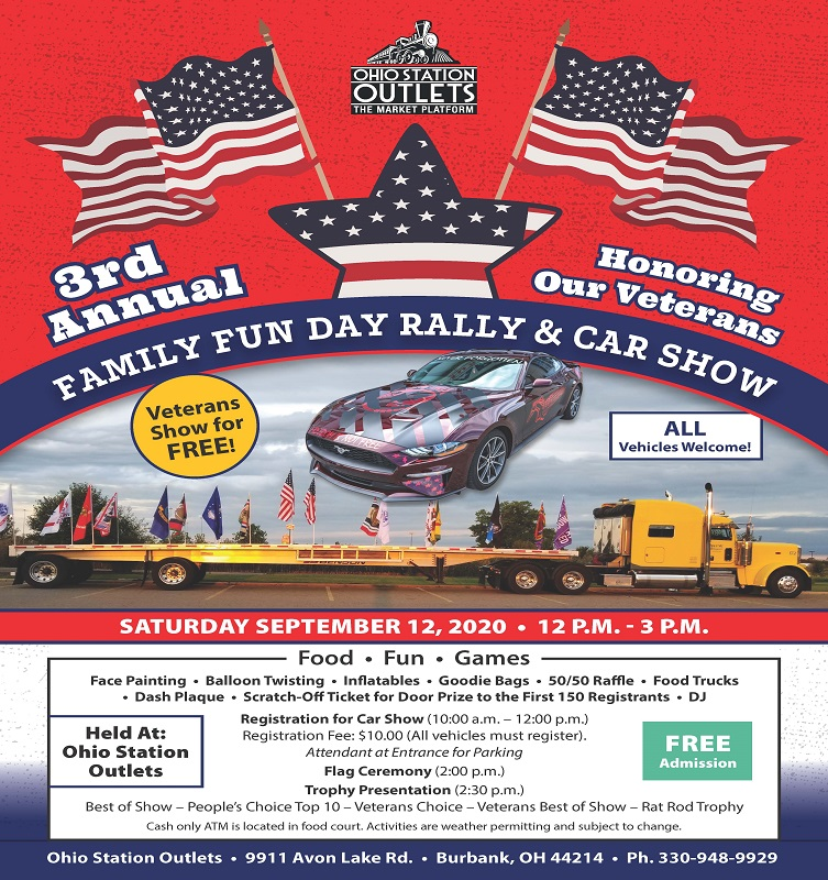3rd Annual Family Fun Day Rally & Car Show