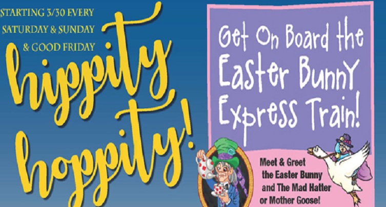 Easter Bunny Express Train