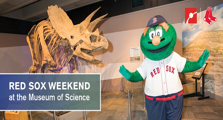 Red Sox Weekend at the Museum of Science