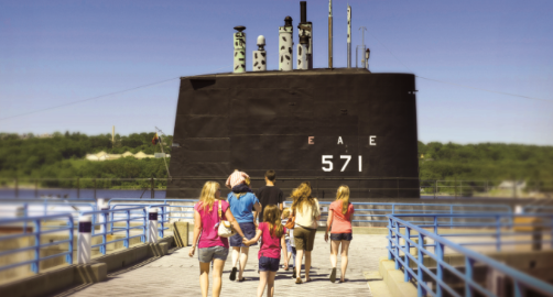 Historic Ship Nautilus & Submarine Force Museum